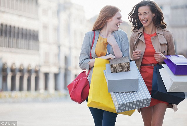 Image result for friend shopping